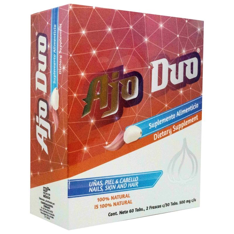 Ajo Duo- Uñas, piel y cabello - Botánica Doña Laya - Productos ...