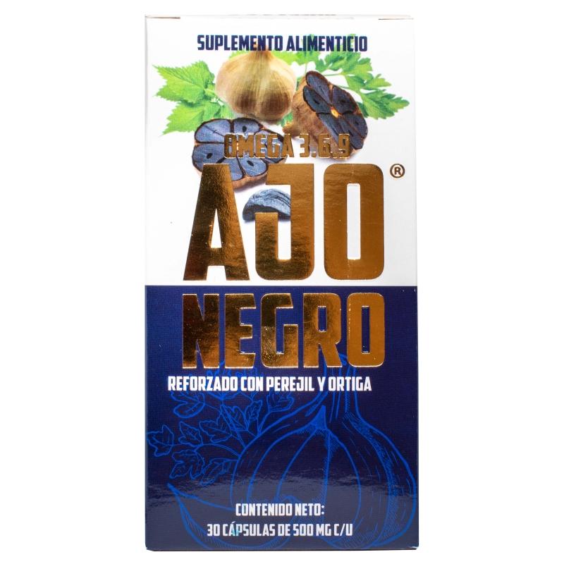 Ajo Negro Reforzado Con Perejil Y Ortiga Botánica Laya Productos Naturistas